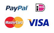 Paypal iDeal MasterCard VISA