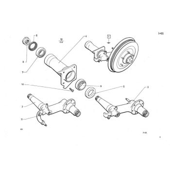 Rolling Chassis - Supporting arm rear